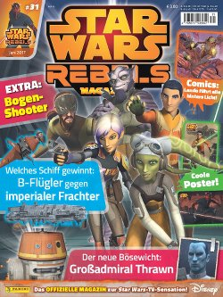 Rebels Magazin #31- Cover
