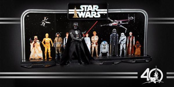 Hasbro zum 40. Geburtstag der Saga: Klassische Figuren in klassischer Verpackung