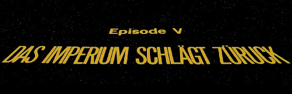 Episode V Lauftext