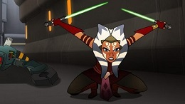 Ahsoka in Forces of Destiny