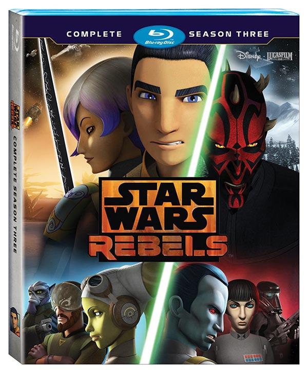 Star Wars Rebels Season 3 Cover