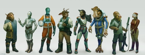 Age of Rebellion Races