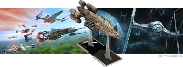 X-Wing: C-ROC Kreuzer