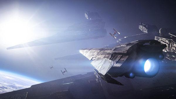 Imperiale Raider Korvette aus <i>Battlefront 2</i>