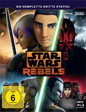 Star Wars Rebels - Die komplette dritte Staffel auf Blu-ray