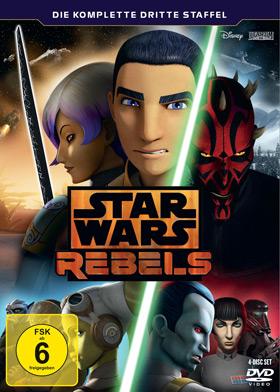 Star Wars Rebels - Die komplette dritte Staffel auf DVD