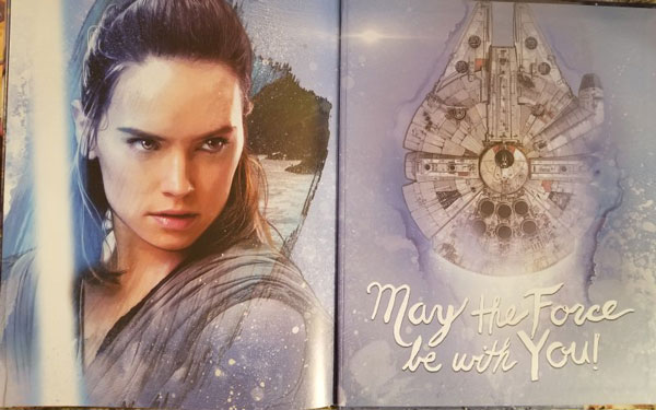 Rey aus <i>The Last Jedi: Look and Find</i>
