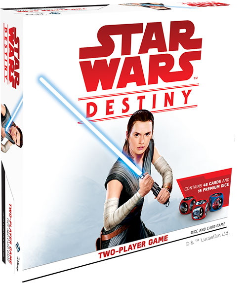 <i>Star Wars: Destiny Starter-Set für 2 Spieler</i>