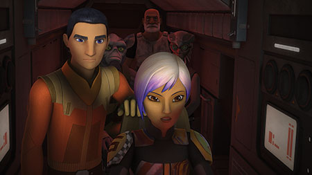 Star Wars Rebels Staffel 3 - Ausschnitt