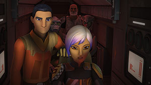 Star Wars Rebels Staffel 3 - Ausschnitt 2