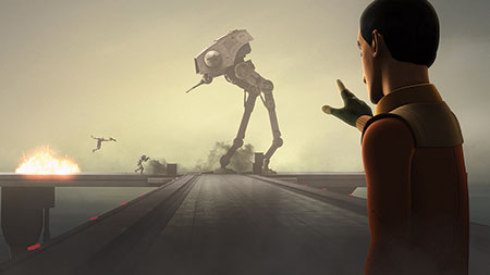 Star Wars Rebels Staffel 3 - Ausschnitt 3