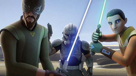 Star Wars Rebels Staffel 3 - Ausschnitt 5