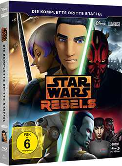 Star Wars Rebels Staffel 3 - Blu-ray-Cover