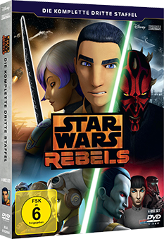 Star Wars Rebels Staffel 3 - DVD-Cover