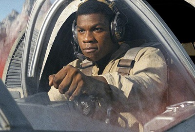 Finn in The Last Jedi