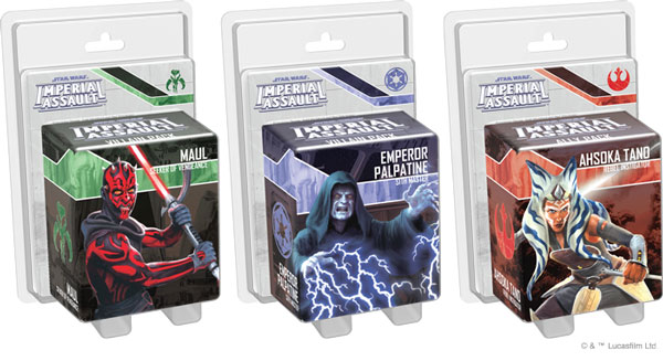 <i>Star Wars: Imperial Assault</i> - Figurenpacks