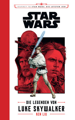Die Legenden von Luke Skywalker - Cover