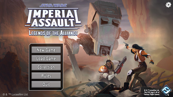 <i>Impeial Assault - Legends of the Alliance</i>