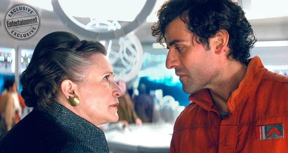 Leia und Poe in <i>The Last Jedi</i>