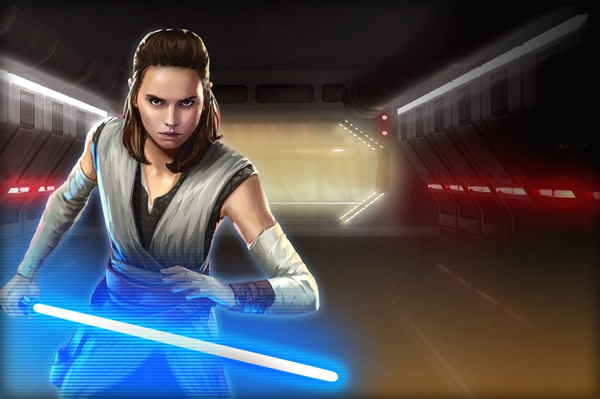 Rey (Jedi-Ausbildung) in <i>Galaxy of Heroes</i>