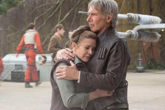 Huan und Leia in Episode VII