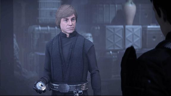 Luke und sein Kompass