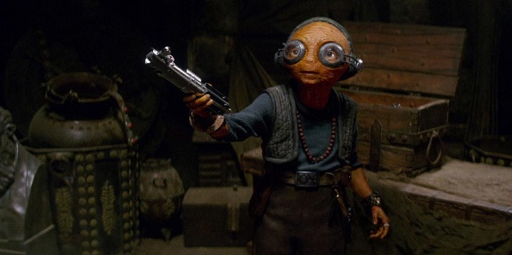 Maz Kanata in Episode VII