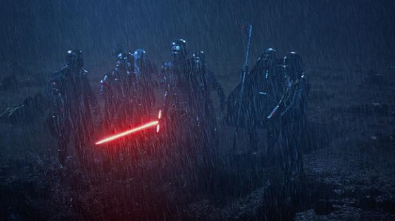Die brennende Jedi-Akademie