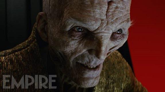 Snoke in <i>Di Letzten Jedi</i>