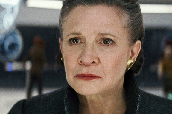 Leia in <i>The Last Jedi</i>