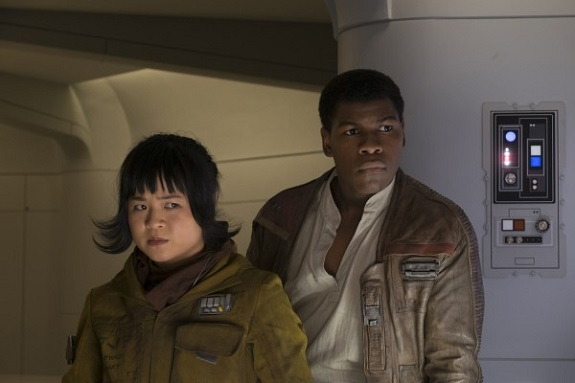 Rose und Finn in <i>The Last Jedi</i>