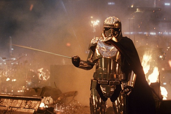 Phasma in <i>The Last Jedi</i>