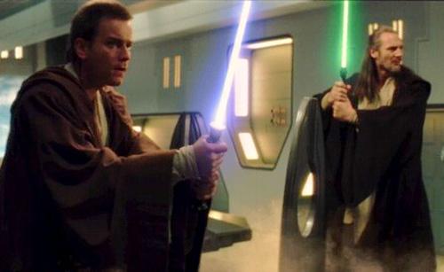 Obi-Wan und Qui-Gon