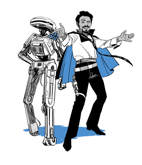 Flight of the Falcon: Lando und L3-37