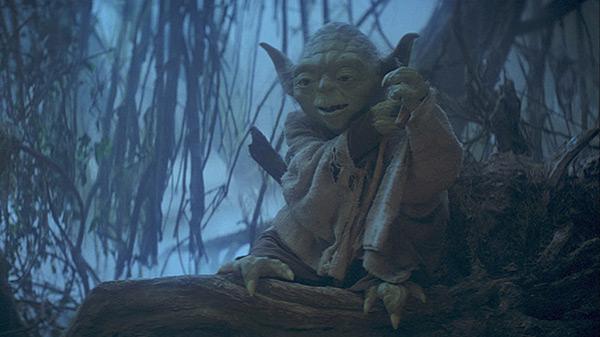 Yoda in Das Imperium schlägt zurück