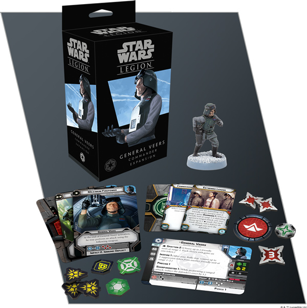 <i>Star Wars: Legion</i> - General Veers