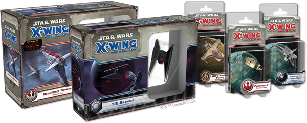 <i>Star Wars: X-Wing</i> - Welle XII und XIII