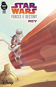Cover zu Forces of Destiny – Rey