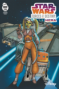 Cover zu Forces of Destiny - Hera - Cover