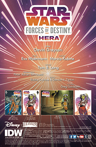 Cover zu Forces of Destiny - Hera - Vorschauseiten