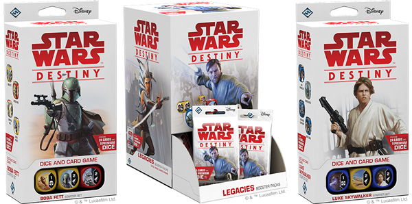 <I>Star Wars: Destiny</i> - Legacies