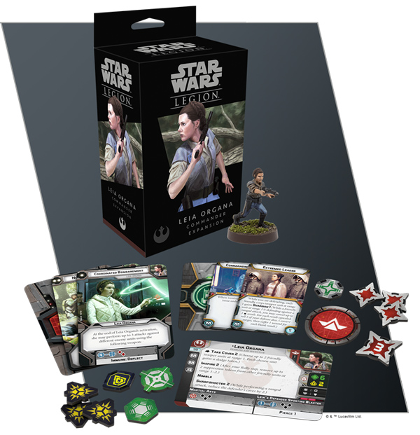 <I>Star Wars: Legion</i> - Leia Organa
