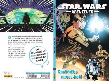 Die Waffe eines Jedi - Cover