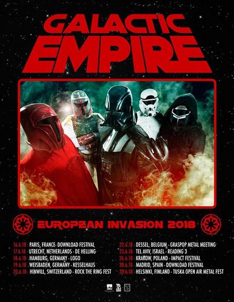 Galactic Empire Tourdates
