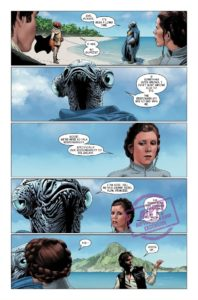 Vorschauseitern zu Star Wars #44