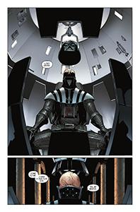 Vorschauseiten zu Darth Vader #13