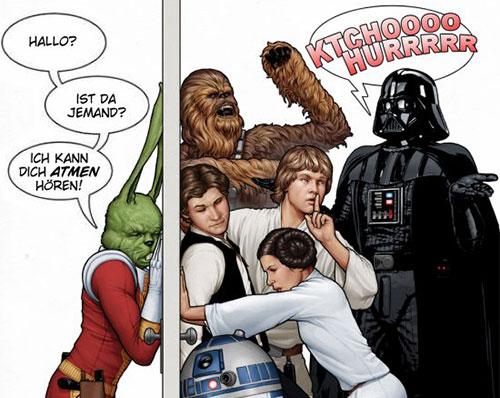 Marvel Variant Cover #1 mit Jaxxon