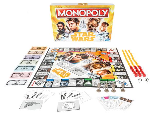 Das Monopoly zu Solo: A Star Wars Story