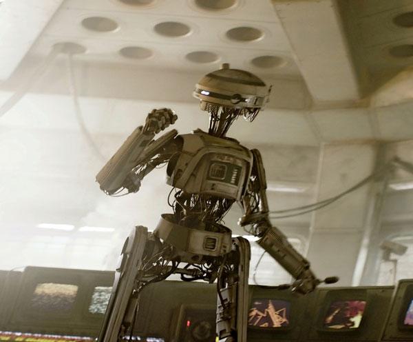 Landos Kopilotin L3-37in Solo: A Star Wars Story