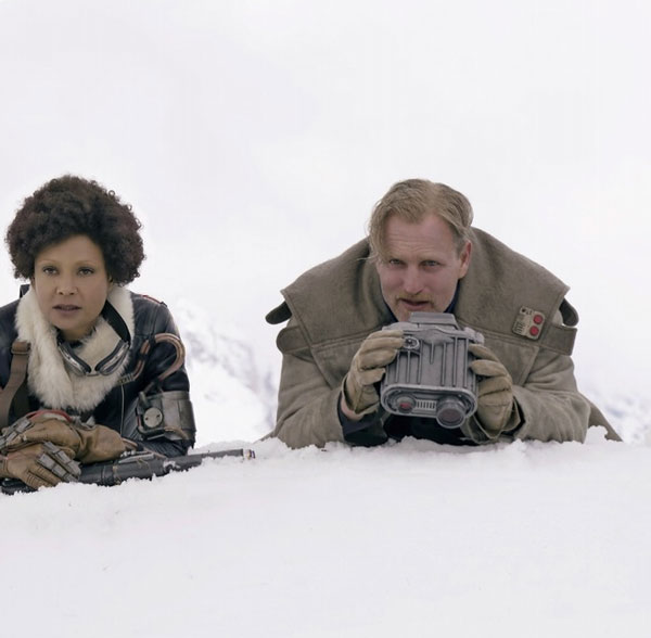 Val und Beckett in Solo: A Star Wars Story